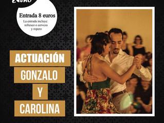 El Domingo 07/06 bailamos en la milonga Azento Xteño en Las Rozas de Madrid...!!!