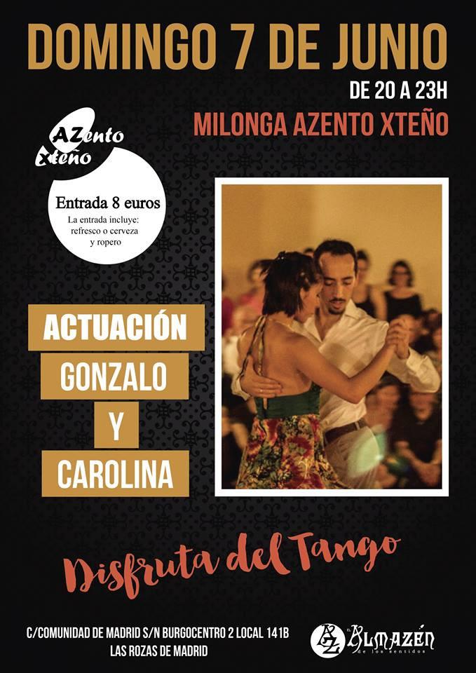 Tango Madrid Clases