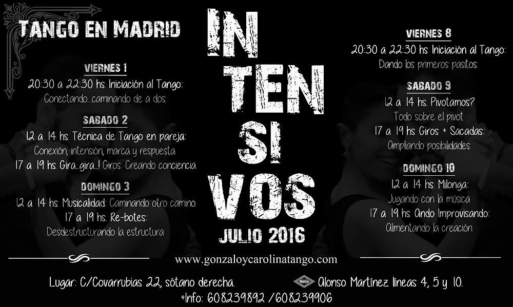 Clases de Tango en Madrid
