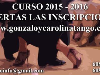 Abierta la inscripción para el Curso 2015 -2016