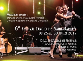 6to Festival de Tango en Saint Raphael (Francia)