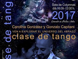 Madrid Folk 2017 - Tango en el Círculo de Bellas Artes de Madrid!