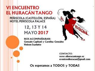 VI Encuentro El Huracán Tango-Peñíscola.