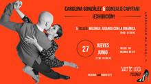 """Mañana clase y exhibición en Milonga """"Suerte Loca"""" Madrid!"""