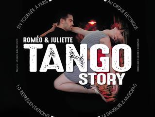 Nos vamos a Paris con Romeo & Juliette Tango Story