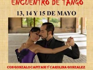 En Mayo nos vamos al Encuentro de Tango de Cartagena