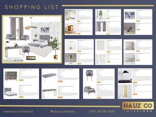 Shopping List | HAUZ Co Interiors