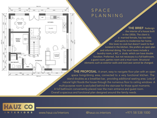 Space Planning | HAUZ Co Interiors