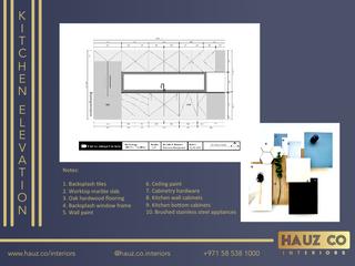 Kitchen Elevation | HAUZ Co Interiors