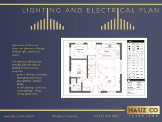 Lighting & Electrical Plan | HAUZ Co Interiors