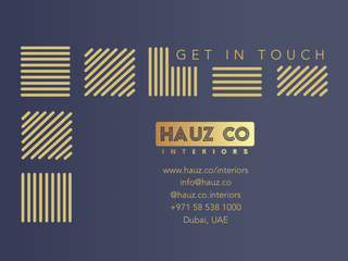 Get In Touch | HAUZ Co Interiors