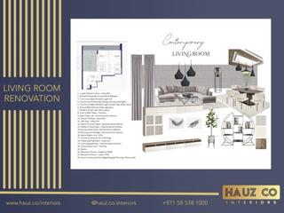 Living Room Renovation | HAUZ Co Interiors