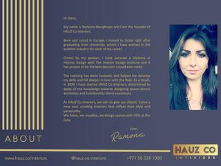About | HAUZ Co Interiors
