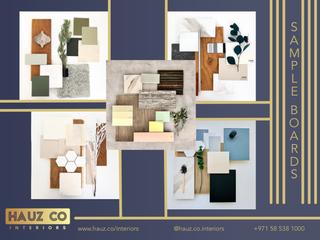 Sample Boards | HAUZ Co Interiors