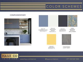 Color Schemes | HAUZ Co Interiors
