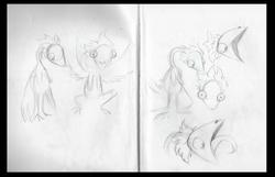 Harpy sketchin'