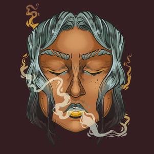 SMOKE LADY