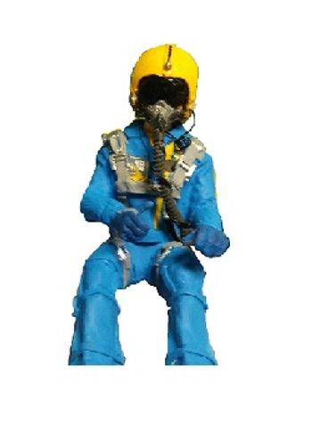 1/8th scale Jet Pilot Blue Angel-Full Body