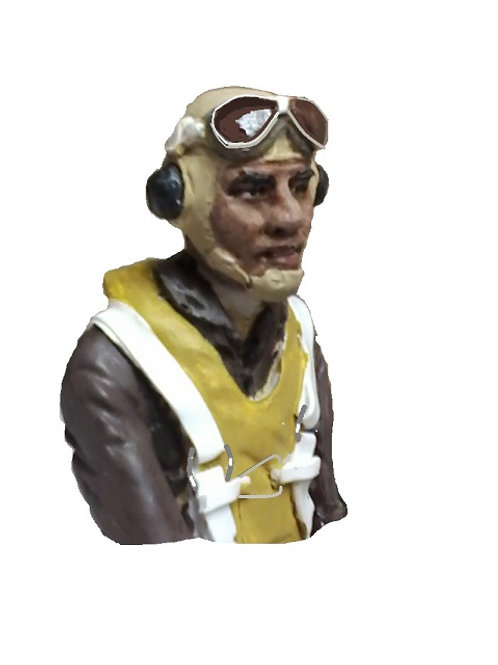 WW2 1/8TH SCALE TUSKEGEE AIRMAN BUST
