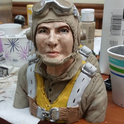 W2 American Navy 1/4th scale Bust