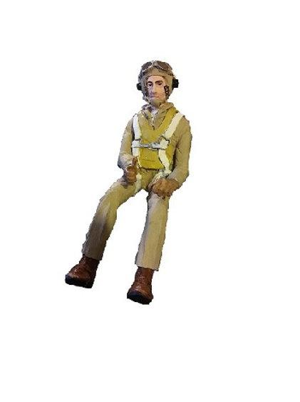 W2AM 1/8th scale pilot full body