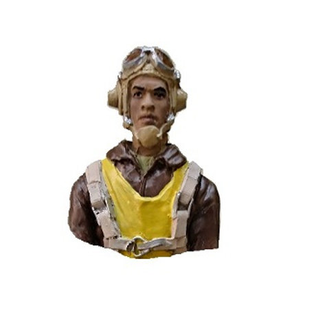 W2 AMER. 1/6TH SCALE TUSKEGEE  BUST