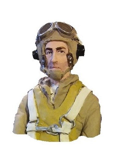 WW2 1/8TH SCALE NAVY BUST