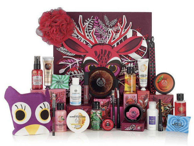 Calendario dell'Avvento The Body Shop
