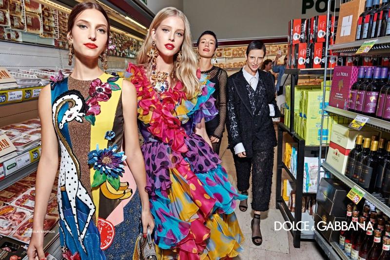 Campagna ADV Dolce & Gabbana spring summer 2019