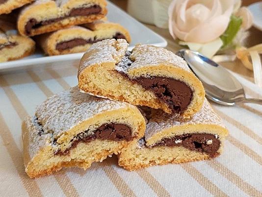 Un biscotto al mese presenta...Nascondini alla Nutella!