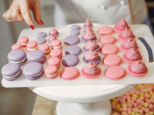 I biscotti della Primavera: Macarons al cioccolato bianco