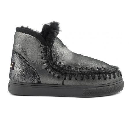 Mini eskimo sneaker Microglitter black