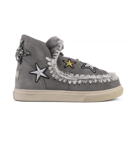 Mini eskimo sneaker Star patches New gre