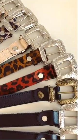 Animalier belts