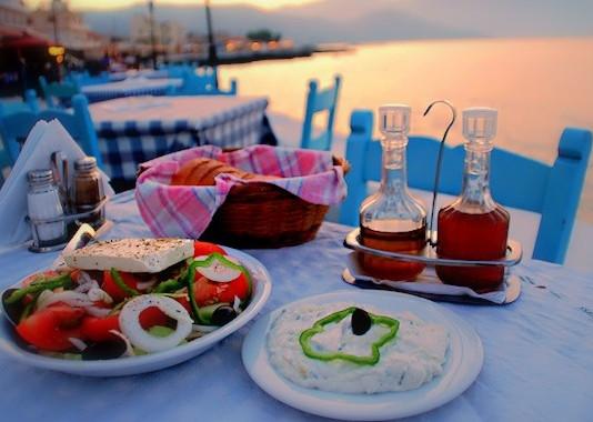 La Grecia nel piatto