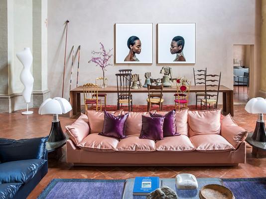 Spazi abitati: l'arte in tavola