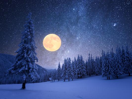 Il calendario lunare di dicembre