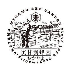 美甘養蜂園マーク