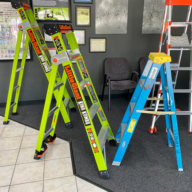 Ladders we use