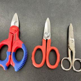 Wiring scissors