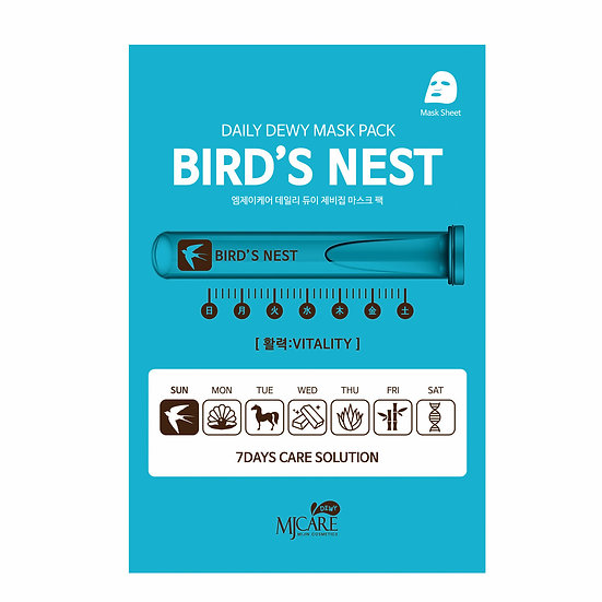 MJ CARE Daily Dewi Bird Nest Mask