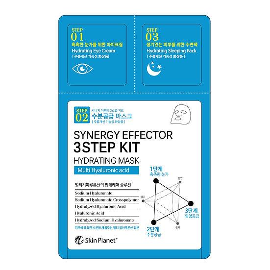 Multi ácido hialurónico Synergy Effector 3 Step Kit Hydrating