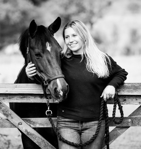 Emily Pratt Black Background and Gate-34
