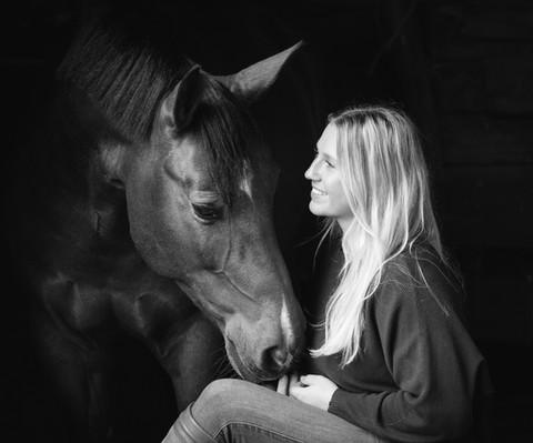 Emily Pratt Black Background and Gate-12
