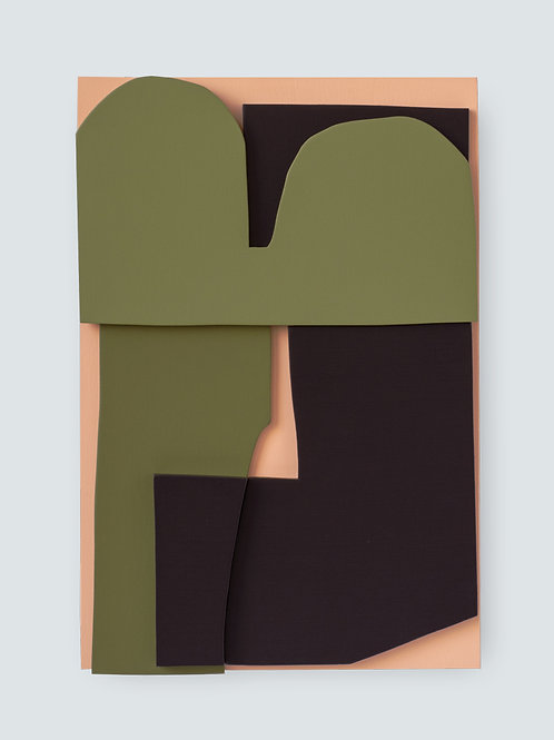 Wood Collage no. 14
