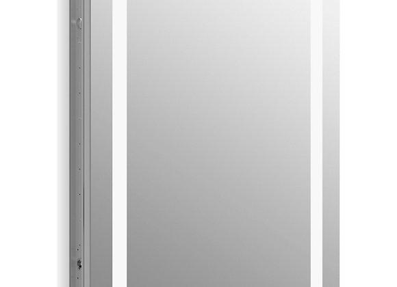 "Kohler Verdera 24"" x 30"" Lighted Medicine Cabinet Aluminum"