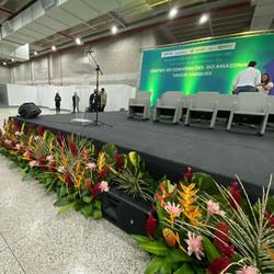 Inauguração de Pavilhão do Centro de Convenções de Manaus (AM)