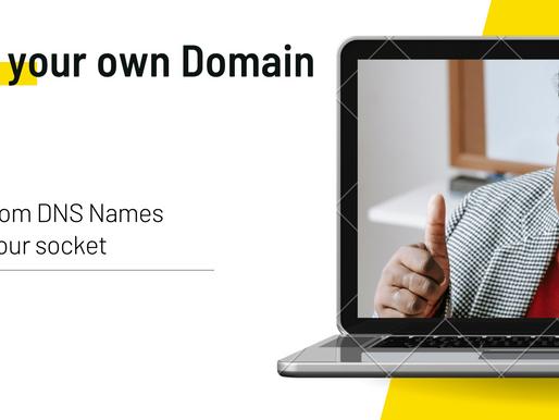 Custom DNS names — Bring your own Domain
