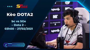 Kèo DOTA2, bc vs SGe – Dota 2 – OGA DPC South America Regional League Season 1: Upper Division