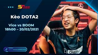 Kèo DOTA2, Vice vs BOOM – Dota 2 – Dota Pro Circuit 2021: Season 1 – Southeast Asia Upper Division